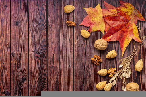 Leaves, Nut, Food, Almond, Walnut, Fruit, Healthy