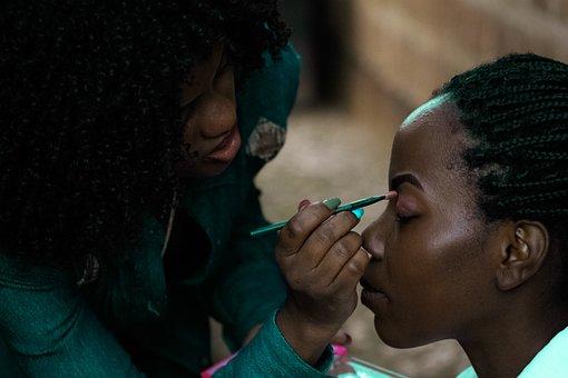 Fashion, Makeup, Face, Beauty, Woman, Girl, African