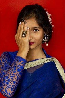 Woman, Fashion, Portrait, Traditional Clothing, Girl
