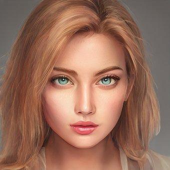 Woman, Girl, Portrait, Model, Face, Female, Person