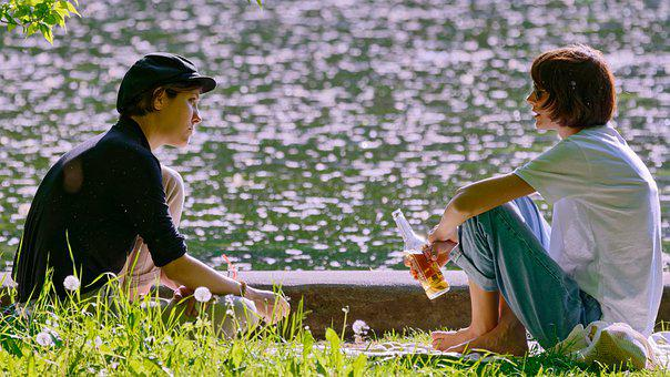 Women, Leisure, Park, Girls, People, Young, Relaxing
