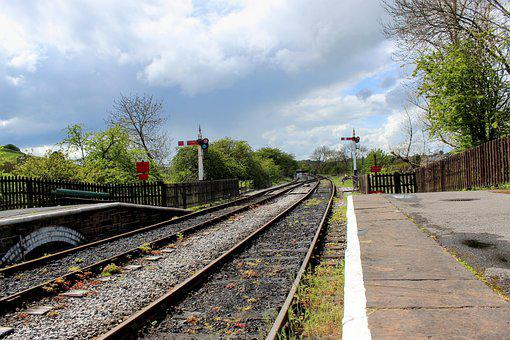 Railroad, Station, Bolton Abbey Station, Heritage
