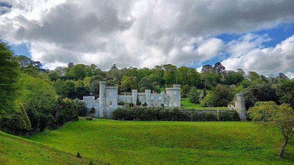 Caerhays Castle, Cornwall, England, Coast, Uk, Manor