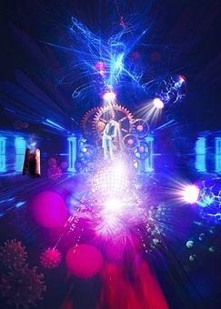 Future, Surreal, Cyberpunk, Mystic, Dark, Futuristic