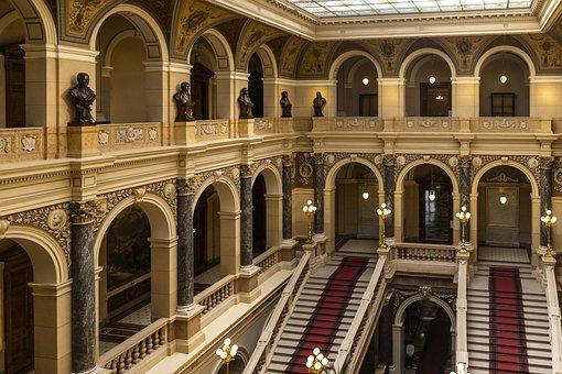 Museum, Stairs, History, Window, Ball, I, Italian