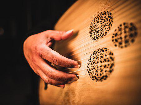 Lute, Musical Instrument, Music, Oud, Theorbo, Baroque