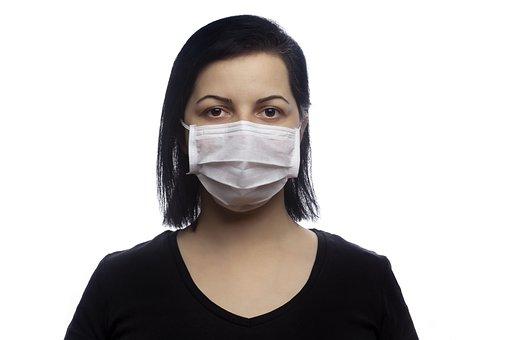 Woman, Mask, Medical Mask, Wearing Mask, Portrait
