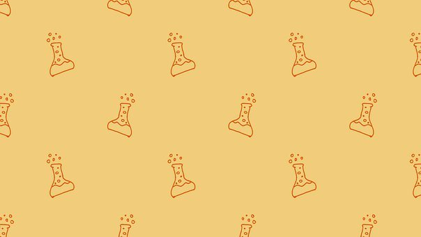 Beaker, Experiment, Pattern, Doodle, Science, Research
