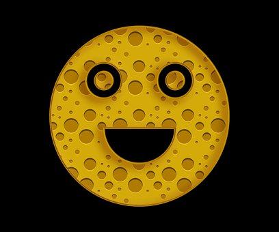 Emoji, Smile, Cheese, Smiley, Happy, Face, Emotion