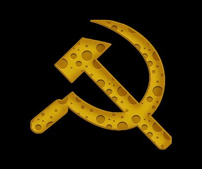 Hammer And Sickle, Cheese, Symbol, Ussr, Communism