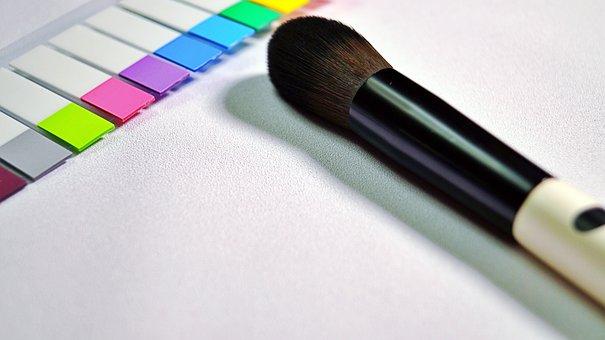 Brush, Pen, Paper, Sticker, Colorful, Canvas, Pattern