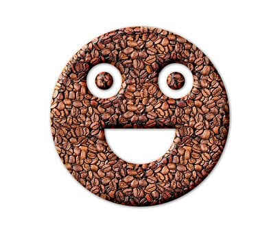 Emoji, Smile, Coffee Beans, Coffee, Smiley, Happy, Face