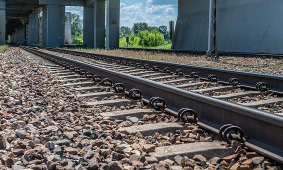 Tracks, Train, Railway, Rails, Train Tracks, Railroad