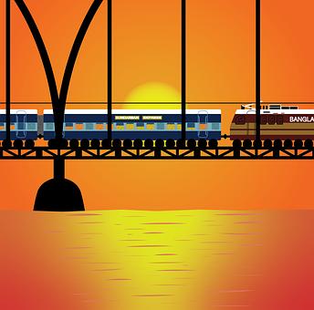 Railway, Wallpaper, Railroad, Train, Landscape
