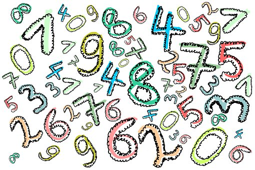 Digits, Numbers, Count, Learn, Pay, One, Two, Three