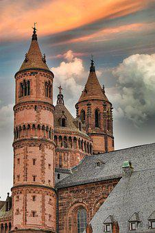 Dom, Worms, Church, Places Of Interest