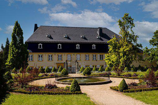 Castle, Park, Architecture, Schlossgarten, Historically