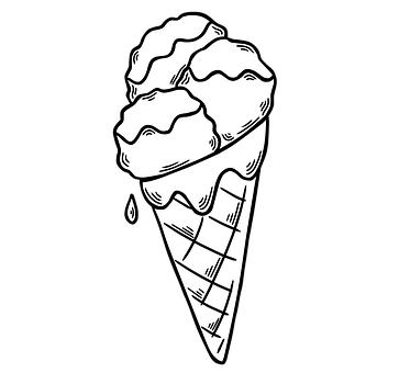 Ice Cream, Cone, Dessert, Pastry, Sweet, Sweetness