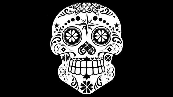 Sugar Skull, Skull, Decorative, Day Of The Dead, Death