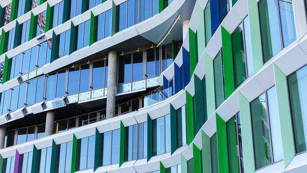 Building, Architecture, Windows, Facade, Glass Windows