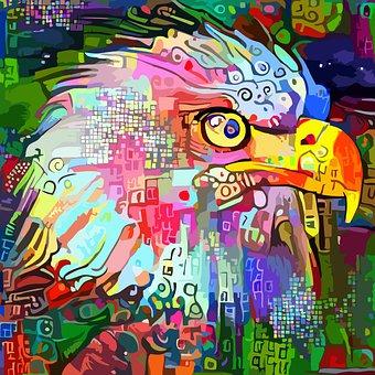 Bird, Eagle, Feathers, Beak, Predator, Freedom