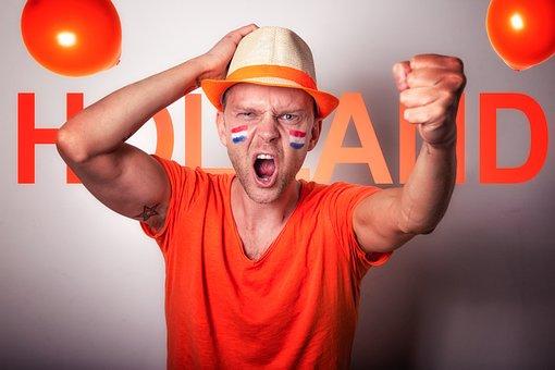 Holland, Supporter, Netherlands, Soccer, Football