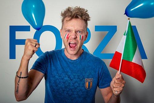 Italy, Italian, Soccer, Football, Sport, Flag
