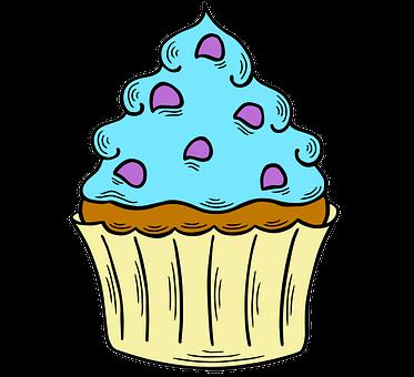 Cupcake, Dessert, Pastry, Sweet, Birthday, Bake