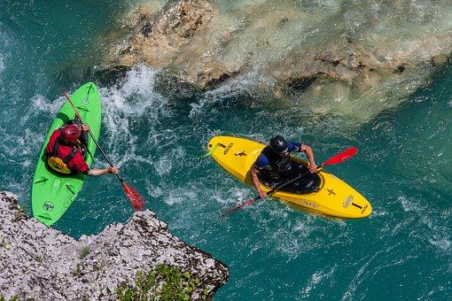 River Canoeing, Sport, Canoe, Kayak, River, Canoeing