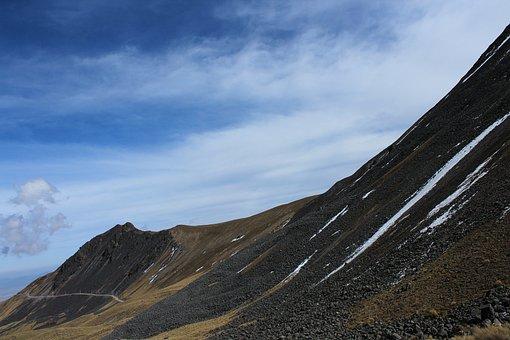 Mountain, Snowy, Winter, Landscape, Alps, Nature, Cold