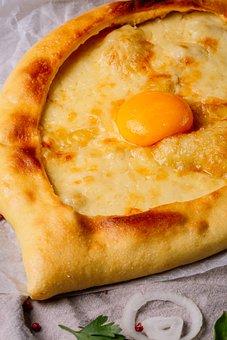 Khachapuri, Yolk, Bread, Cooking, Egg