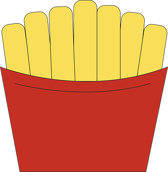 French Fries, Fast Food, Dinner, Meal, Appetizer