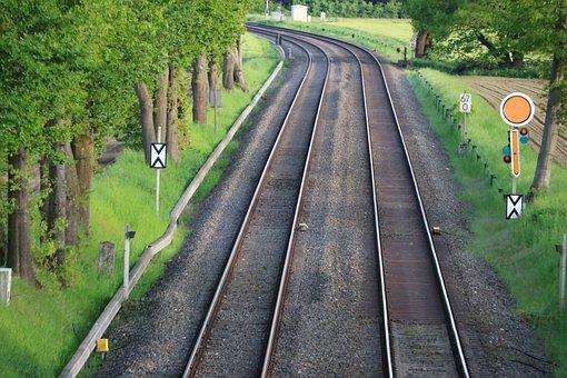 Train, Ground Rail, Niederrhein, Kempen, Railway