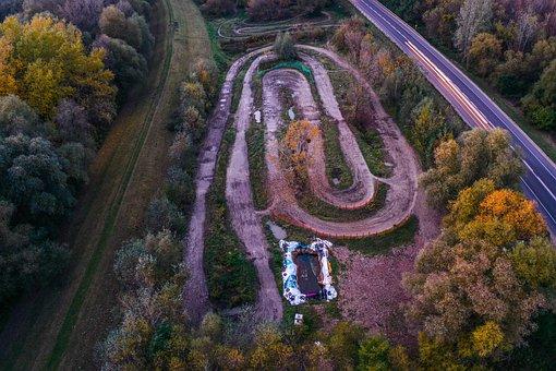 Road, Race Track, Landscape, Nowy Dwór Mazowiecki
