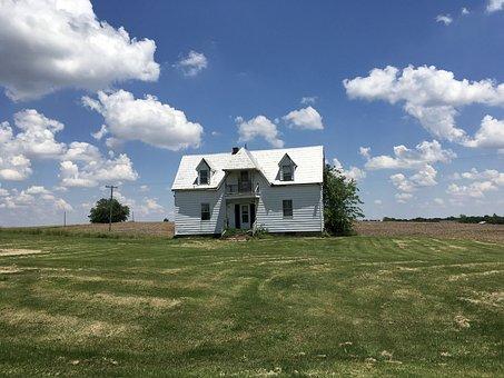 Little House On A Prairie, White House, Farm House