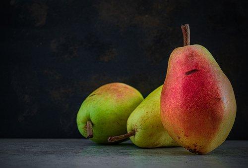 Pears, Fruits, Fresh, Ripe, Organic, Healthy, Food