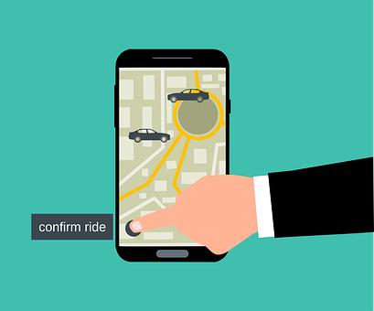Ride, Taxi, Gps, Map, Service, Uber, Navigation, Online