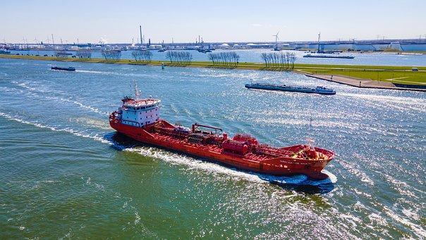 Ship, Sea, Transport