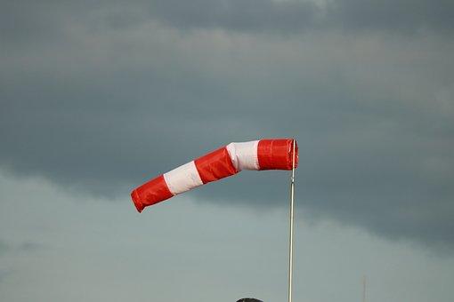 Wind Direction, Wind Sock, Weather, Wind Vane, Air Bag