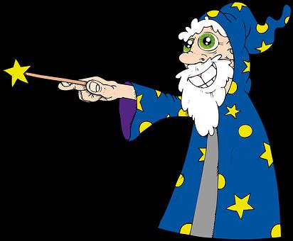 Magician, Wizard, Fantasy, Character, Wand, Magic