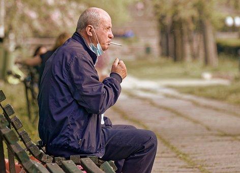 Man, Adult, Cigarette, Smoking, Smoke, Smoker