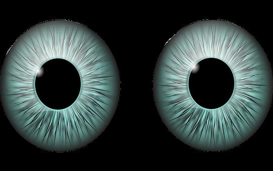 Eyes, Pupil, Iris, Vision, Cut Out