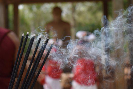 Incense Sticks, Buddhism, Buddhist, Religion, Asia