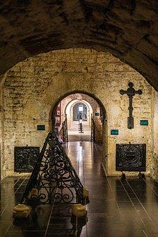 Monastery, Orval, Interiors, Church Interiors, Wallonia