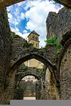 Monastery, Orval, Wallonia, Monk, Places Of Interest