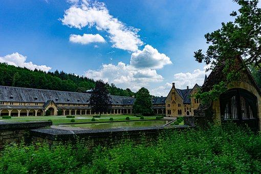 Orval, Abbey, Monastery, Belgium, Trappist