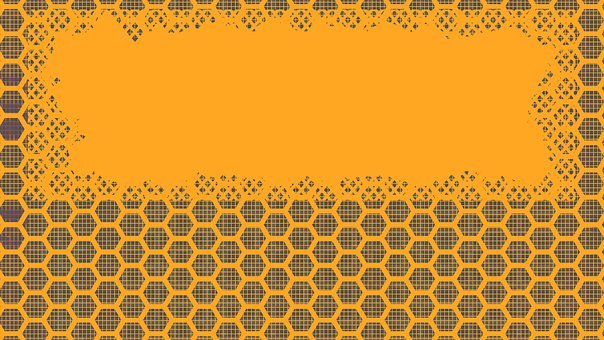 Background, Hexagons, Geometric, Pattern, Header, Grey