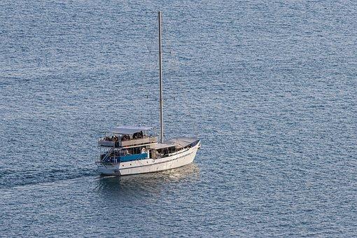 Sea, Boat, Sailing, Travel, Transport, Transportation