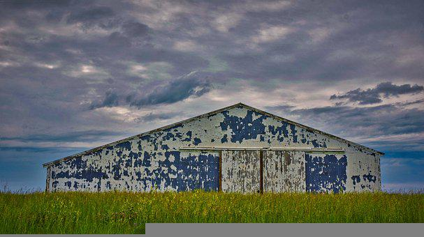 Old, Barn, Wood, Nature, Weathered, Farm, Rural, Hut