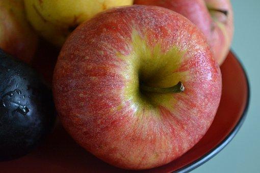 Apple, Red, Red Apple, Healthy, Still Life, Fresh